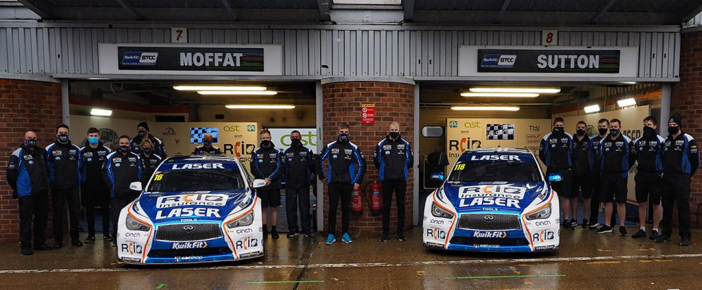Laser Tools Racing team picture